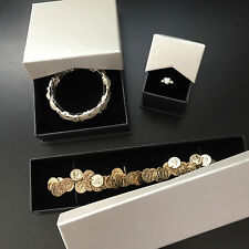 3 X Assorted JEWELLERY GIFT BOXES DISPLAY RING BRACELET BANGLE PENDANT NECKLACE