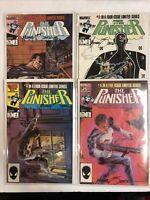 Punisher (1985) # 2 3 4 5 (F/VF) Signed Michael  Zeck