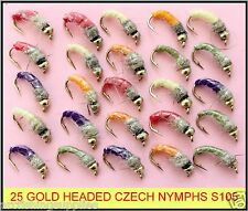 Trout Flies Nymphs Fly Fishing Coves /& Aylotts 18 Czech Nymphs Mixed 10//12
