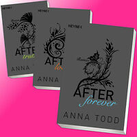 Set: ANNA TODD | AFTER Band 2 + 3 + 4 | AFTER truth + love + forever (Buch)