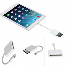 For iPhone 7/6s/6/Plus/iPad/Mini/Air Lightning To SD Card Camera Reader Adapter