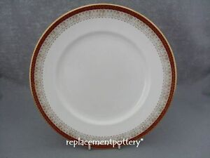Royal Grafton Red Majestic Dinner Plate