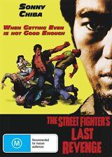 THE STREET FIGHTER'S LAST REVENGE - SONNY CHIBA - NEW & SEALED DVD