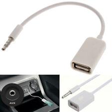 CAVETTO USB MASCHIO JACK 3,5 MM AUX AUDIO CASSE MINI CONVERTIRE USB FEMMINA