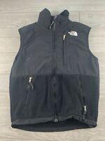 The North Face Black Fleece Vest Full Zip Jacket Denali Womens Sz Small S P