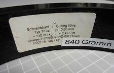200 lfm RaVet TiStal Ø 0,8 mm Schneiddraht Widerstandsdraht Cutting wire