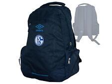 Umbro FC Schalke 04 Rucksack blau Fanartikel Tasche S04 Fußball Daybag Backpack