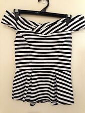 New without tags - Portmans Off Shoulder Stripe Top