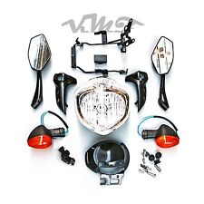 Headlight Set Head Light Kit Assembly For Yamaha FZ6N FZ6S Fazer 2004-2006 05