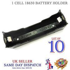 10x hágalo usted mismo 18650 Li-Po Batería Celular Soporte de plástico caso de PCB 3.7V 3.6V 4.2V Caja