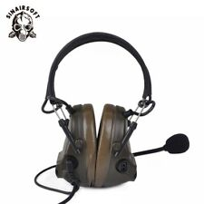 Z Tactical Comtac III Headset Pickup & Anti Noise Earphone Heaphones Hunting FG