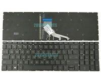 New HP 15-DA0046NR 15-DA0047NR 15-DA0048NR 15-DA0049NR Keyboard Backlit US Black
