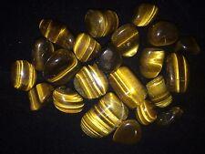25 Tiger Eye Gemstone Necklace Kits