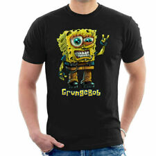Spongebob Parody Grungebob Men's T-Shirt