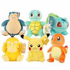 HIGH QUALITY | POKEMON PLUSHIE - DETECTIVE PIKACHU AND FRIENDS (BEST FOR A GIFT)