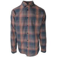prAna Men's Charcoal Magma L/S Woven Shirt (Retail $75)
