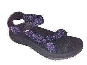 TEVA Hurricane Sandal Womens Size 7 Purple Blue Hiking Water Shoe 6113