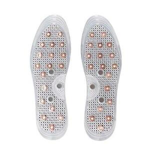 Samwoo Anti-Odor Acupressure Copper Magnetic Massage Shoe Insoles