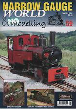 Narrow Gauge World - Issue 59 Sep/Oct 2008 - New