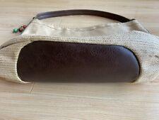 ** Fossil Hobo  Straw Handbag