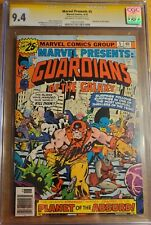 MARVEL PRESENTS: GUARDIANS OF THE GALAXY #5 1976 CGC 9.4 SS SIGNED STAN LEE