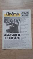Revista Semanal Cinema Semana de La 11A 17 Mars 1987 N º 391 Buen Estado