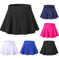 Women Pleated Sports Shorts Skirts Tennis Running Athletic Skorts Quick Dry