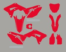 2017 Honda CRF 450 Template For graphics vector 2017 crf450r