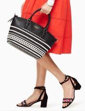 NWT Kate Spade Jackson Street Fabric Dixon Bag Black Handbag MSRP $298.
