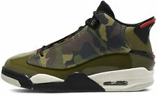 Air Jordan Dub Zero Camo 311046-200 Men Basketball Shoes 100%Authentic Green