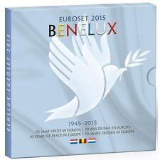 2015 Benelux bu set 24 coin set 1 c to 2 euro and medal new uncirculated