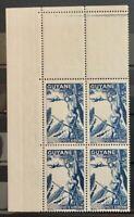 French Guiana #YTPA25 MNH CV€4.40 Vichy Native [Margin Block][C8C]