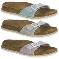 Birkenstock Papillio Madrid Birko-Flor Schuhe Damen Beach Sandale Pantolette