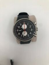 Rare Nike Heritage Sports Watch Black White Face WC0053