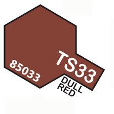 TAMIYA TS33 DULL RED - BOMBOLETTA SPRAY PER PLASTICA 100 ml