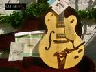 ♚MINT♚ 2014 GRETSCH G-6120 AM ♚ NATURAL AAA FLAME ♚Fender Model♚BIGSBY♚COA♚100% for sale