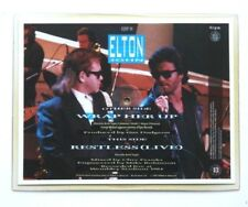 Elton John George Michael Wrap Her Up Shaped Vinyl Picture Pic Disc WHAM