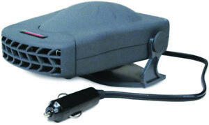 Road Pro 12V All Season Heater/Fan with Swivel Base for Boat or Vehicle