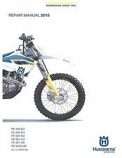 Husqvarna workshop service manual 2015 FE 450 EU & FE 450 AU