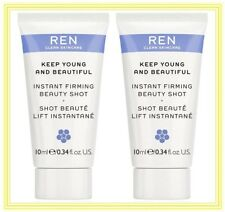 2 REN~Keep YOUNG and BEAUTIFUL~ INSTANT Firming BEAUTY Shot~ANTI-AGING Gel SERUM