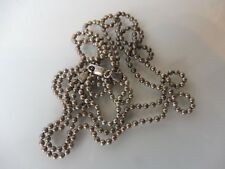 Schöne , alte Silber-Kette__Doppelkette__Kugelkette__925 Silber__108 (55,5) cm_!