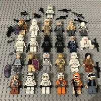 LEGO Star Wars Minifigure Bundle Job Lot Stormtrooper Clone Hoth Rebels Pilots