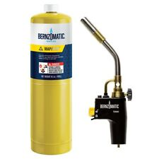 TS8000BZKC BERNZOMATIC MAX HEAT TORCH KIT FOR FASTER WORK TIMES INCLUDES 1 X MAP