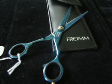 """NEW FROMM STYLING SHEAR 6"""" #144 BLUE TITAN FROM GERMANY W/CASE"""