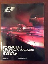 F1 2013 program-Montreal, includes bonus