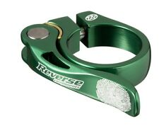 REVERSE Long Life 34,9 Saddle Clamp | Green