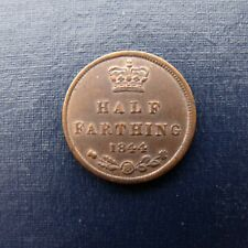 More details for 1844 victoria half farthing recieve the coin pictured free uk p&p