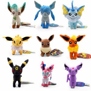 Pokemon Eevee, Umbreon, Flareon, Vaporeon, Glaceon, Jolteon, Espeon, Leafeon