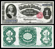 CRISP UNC. 1891 $1  SILVER CERTIFICATE COPY PLEASE READ DESCRIPTION