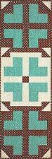 Beach Garden Quilt Patterns - Table Runner Pattern - FREE US SHIPPING